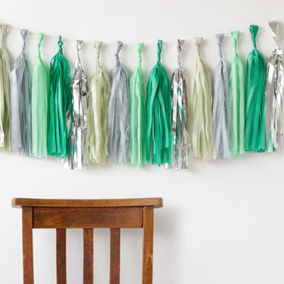 MY LITTLE DAY Tassel Garland kit タッセルガーランドキット(Green)