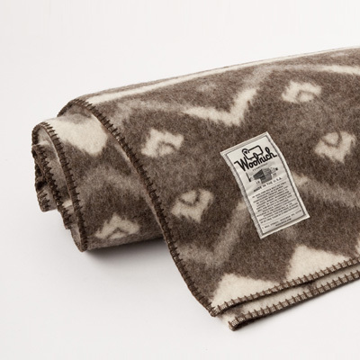 【SALE 40%OFF】WOOLRICH Somerton ジャガードブランケット(Natural)