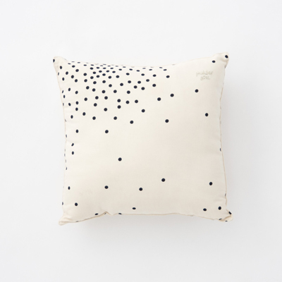 【MORE SALE 40%OFF】POLDER GIRL CUSHION ミニクッション(9C STARDUST BLACK ブラック)25×25