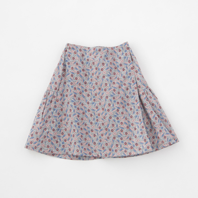 CARAMEL 2018SS キッズ JUPIA SKIRT リバティ ラップ風スカート(S18BR レッド)8A-10A