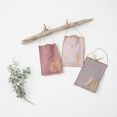 【SALE 15%OFF】NUMERO 74  ADVENT CALENDAR GIFT BAG アドベントカレンダー(MIX PINK)