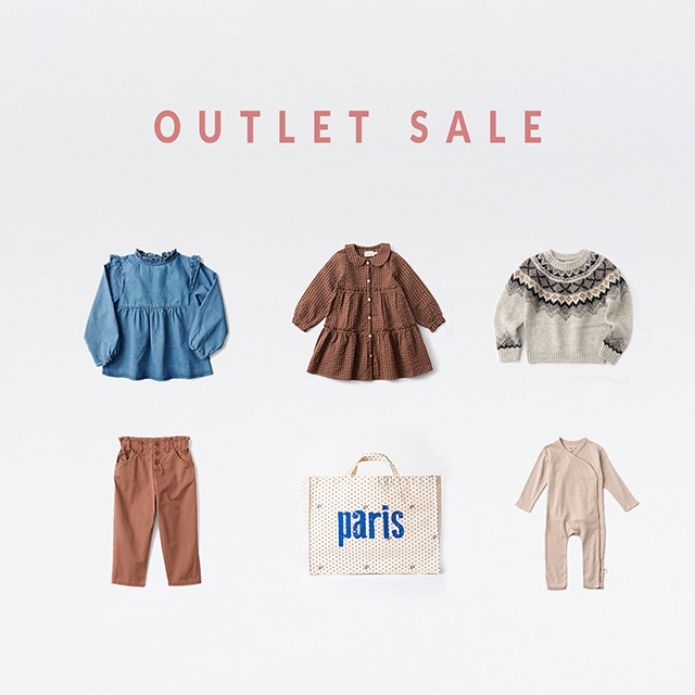 OUTLET アウトレットセール 【会員様限定】今シーズンの「訳あり品」も登場するOUTLET SALE!