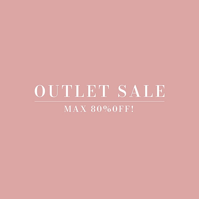 OUTLET SALE アウトレットセール 会員様限定!OUTLET SALE MAX80%OFF