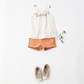 HARTFORD BLOUSE, EMILE ET IDA PANTS, BENSIOM SHOES