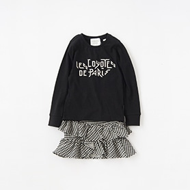 LES COYOTES DE PARIS T-SHIRT, SKIRT