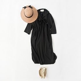 T.YAMAI DRESS, HELEN KAMINSKI HAT, PORSELLI SHOES
