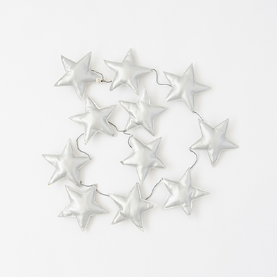 【SALE 15%OFF】NUMERO 74 MINI STAR GARLAND スターガーランド(S034 SILVER)