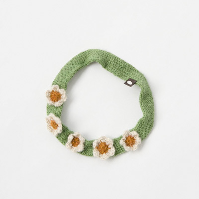 【SALE 40%OFF】OEUF DAISY HEADBAND デイジーヘッドバンド(0215 WHITE FERN)