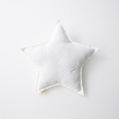 NUMERO 74  Mini Star Cushions Pastel 星形ミニクッション(S001 White)ONE