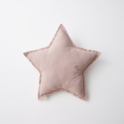 NUMERO 74  Mini Star Cushions Pastel 星形ミニクッション(S007 Dusty Pink)ONE