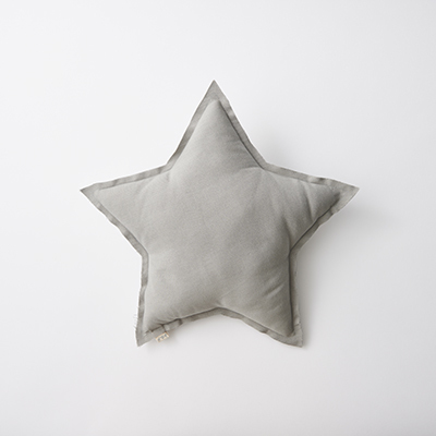 NUMERO 74  Mini Star Cushions Pastel 星形ミニクッション(S019 Silver Grey)ONE