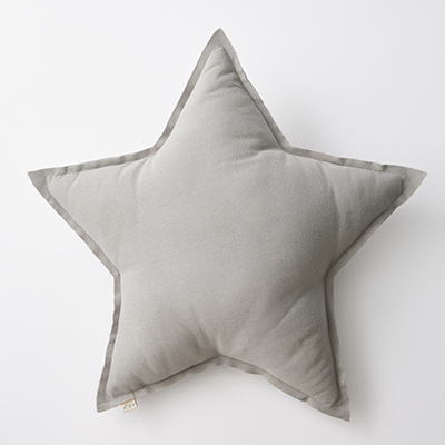 NUMERO 74  STAR CUSHIONS PASTEL 星形クッション(S019 Silver Grey)ONE