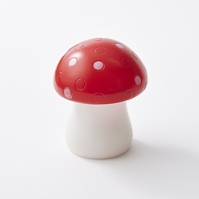 MUSHROOM NIGHT LIGHT ナイトライト きのこ(S001 White/Red)ONE