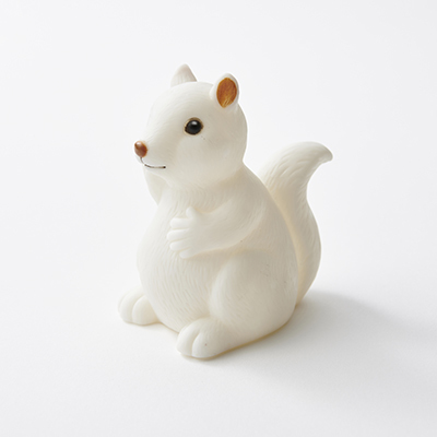 SQUIRREL NIGHT LIGHT ナイトライト リス(S001 White)ONE