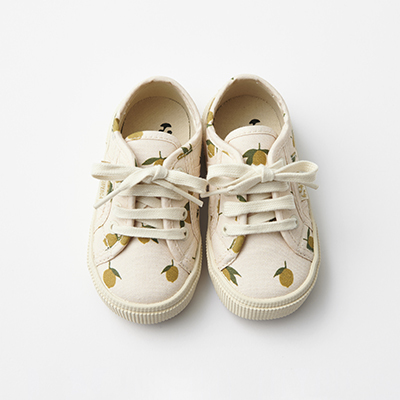 KONGES SLOEJD キッズ KONGES SLOEJD × SUPERGA スニーカー(LEMON イエロー)22-26