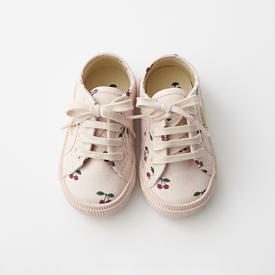 KONGES SLOEJD キッズ KONGES SLOEJD × SUPERGA スニーカー(CHERRY ピンク)22-26