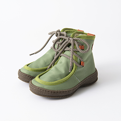 【SALE 50%OFF】PEPE 2020AW キッズ ナイロンブーツ(MILITARY グリーン)30-34
