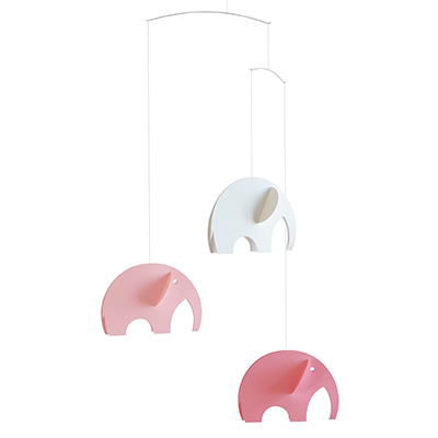 FLENSTED MOBILES 象 Olephants(pink ピンク)