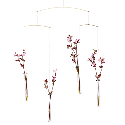 FLENSTED MOBILES 飛ぶ花 Flying flowers(クリア)